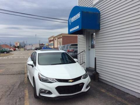 2017 Chevrolet Cruze for sale at Browning Chevrolet in Eminence KY