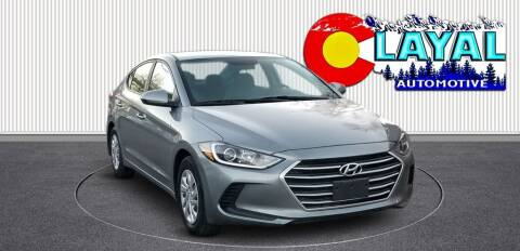 2017 Hyundai Elantra for sale at Layal Automotive in Englewood CO