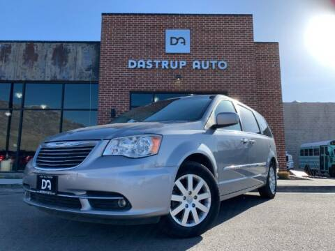 2014 Chrysler Town and Country for sale at Dastrup Auto in Lindon UT