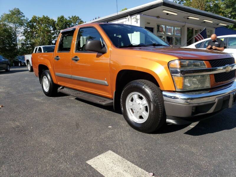 2007 Chevrolet Colorado for sale at Highlands Auto Gallery in Braintree MA