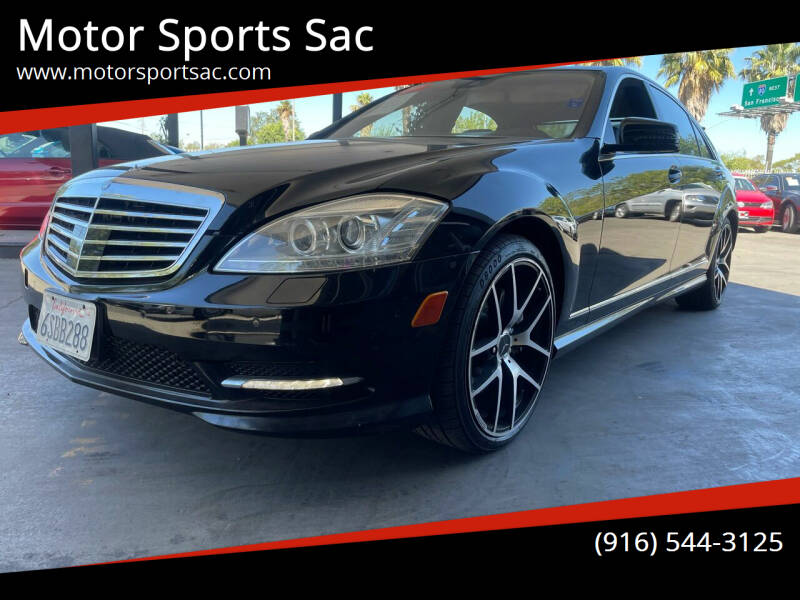 2011 Mercedes-Benz S-Class for sale at Motor Sports Sac in Sacramento CA