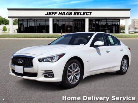 2017 Infiniti Q50 for sale at JEFF HAAS MAZDA in Houston TX