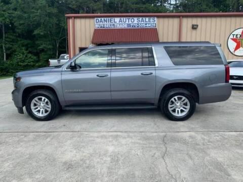 2019 Chevrolet Suburban for sale at Daniel Used Auto Sales in Dallas GA