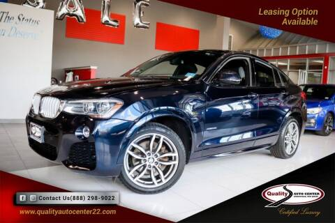 2016 BMW X4 for sale at Quality Auto Center in Springfield NJ