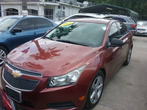 2013 Chevrolet Cruze for sale at Express AutoPlex in Brownsville TX