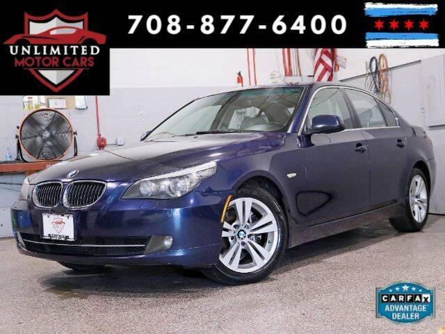 2010 BMW 5 Series for sale at Unlimited Motor Cars in Bridgeview IL