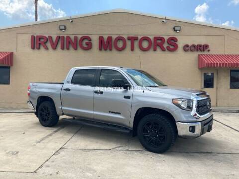 2019 Toyota Tundra for sale at Irving Motors Corp in San Antonio TX