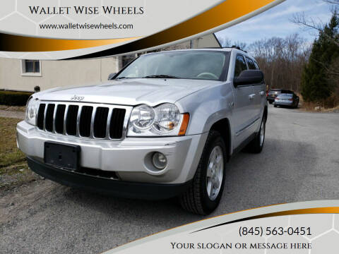 2005 Jeep Grand Cherokee for sale at Wallet Wise Wheels in Montgomery NY