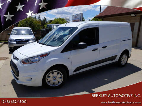 2018 Ford Transit Connect Cargo for sale at Berkley Automotive Inc. in Berkley MI