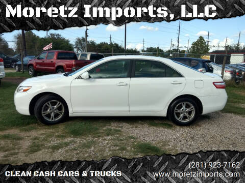 2008 Toyota Camry for sale at Moretz Imports, LLC in Spring TX