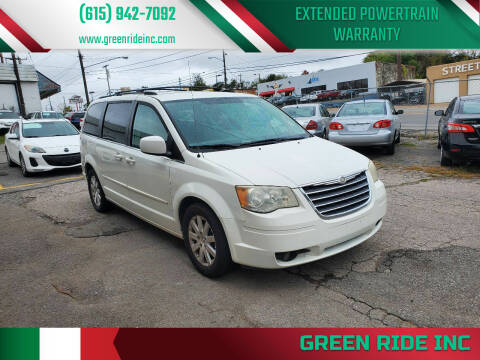 2008 Chrysler Town and Country for sale at Green Ride Inc in Nashville TN
