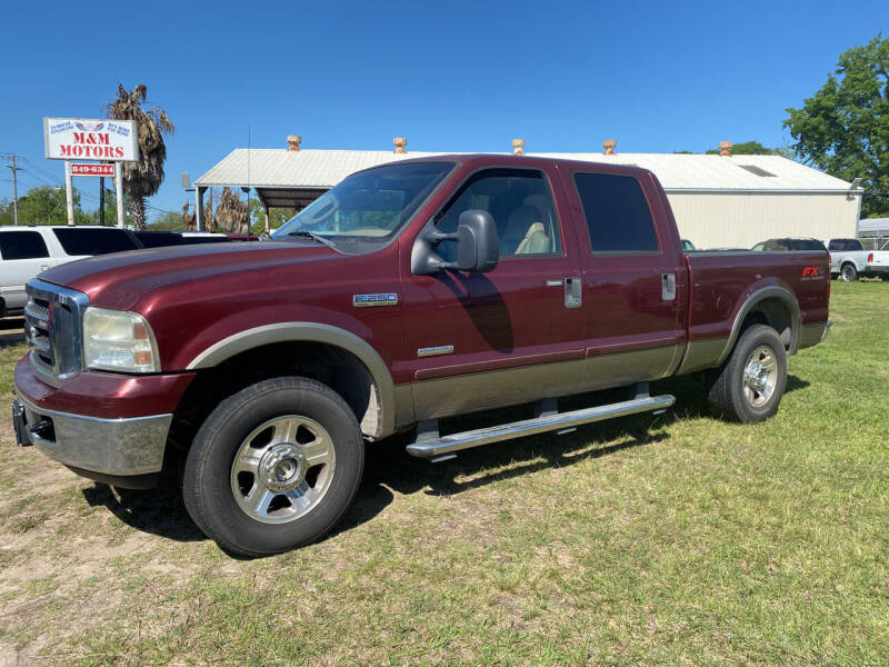 2007 Ford F-250 Super Duty for sale at M & M Motors in Angleton TX