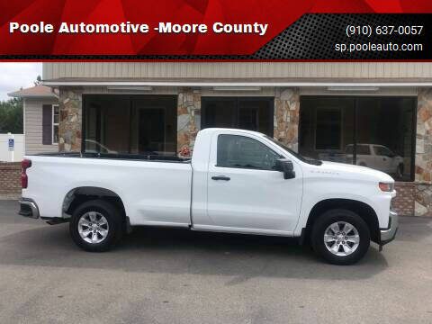 2020 Chevrolet Silverado 1500 for sale at Poole Automotive in Laurinburg NC