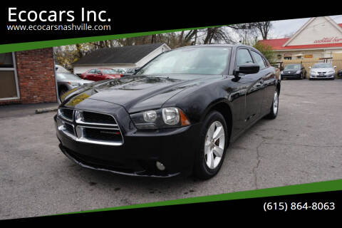 2014 Dodge Charger for sale at Ecocars Inc. in Nashville TN
