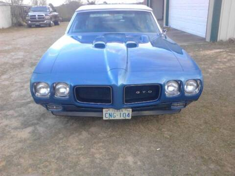 1970 Pontiac GTO for sale at Classic Car Deals in Cadillac MI