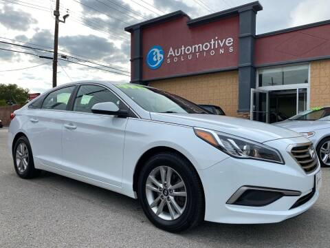 2016 Hyundai Sonata for sale at Automotive Solutions in Louisville KY