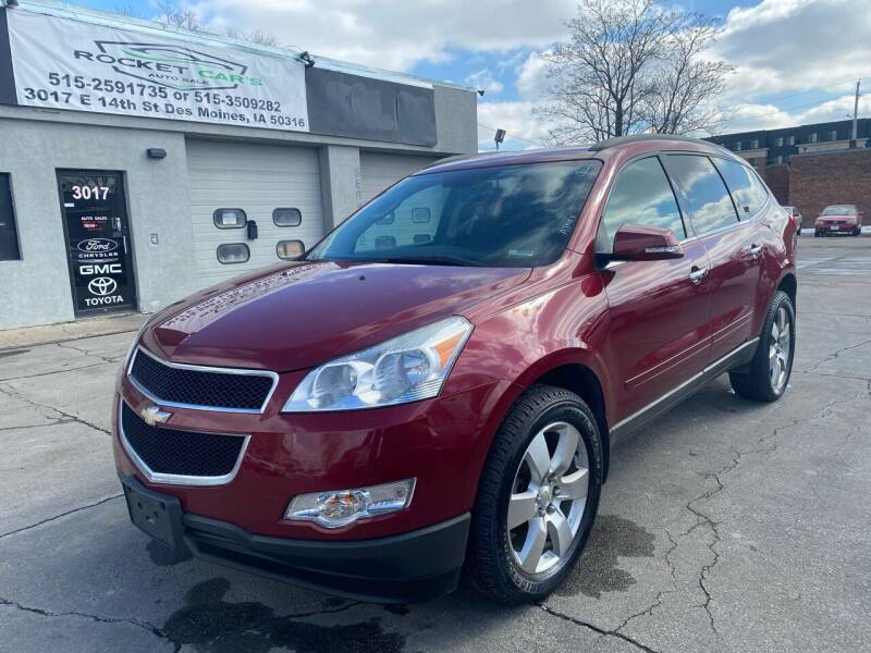 2011 Chevrolet Traverse for sale at Rocket Cars Auto Sales LLC in Des Moines IA