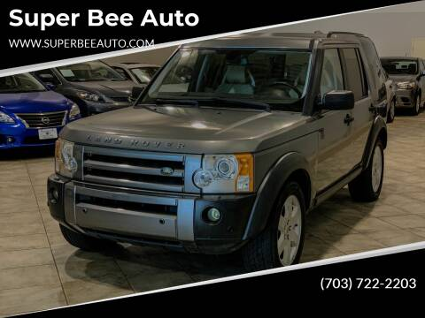 2007 Land Rover LR3 for sale at Super Bee Auto in Chantilly VA