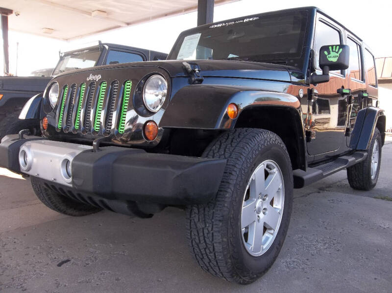 2012 Jeep Wrangler Unlimited for sale at Broken Arrow Motor Co in Broken Arrow OK