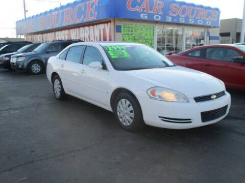 2007 Chevrolet Impala for sale at CAR SOURCE OKC in Oklahoma City OK