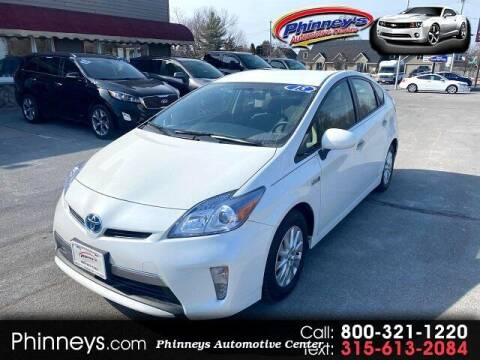 2015 Toyota Prius Plug-in Hybrid for sale at Phinney's Automotive Center in Clayton NY