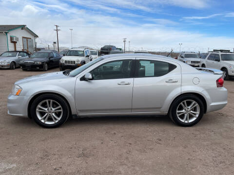 2012 Dodge Avenger for sale at PYRAMID MOTORS - Fountain Lot in Fountain CO