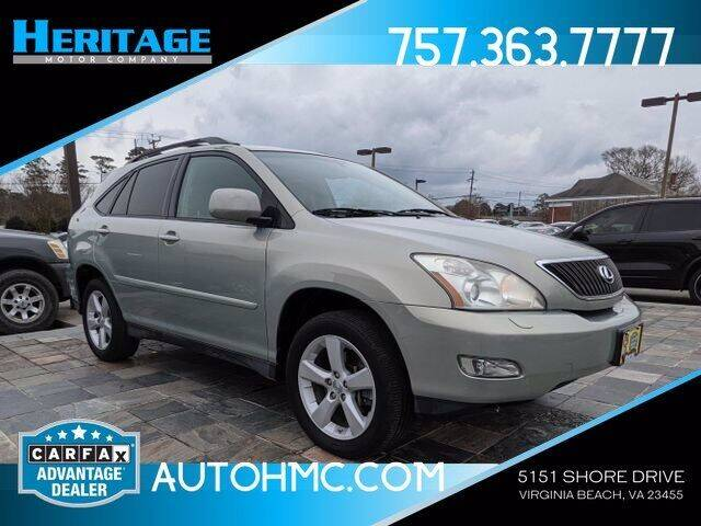 2007 Lexus RX 350 for sale at Heritage Motor Company in Virginia Beach VA