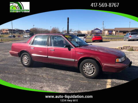 1993 Oldsmobile Cutlass Ciera for sale at Auto Liquidation in Republic MO