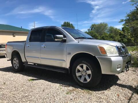 2004 Nissan Titan for sale at KRIS RADIO QUALITY KARS INC in Mansfield OH