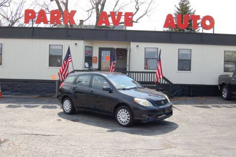 2004 Toyota Matrix for sale at Park Ave Auto Inc. in Worcester MA