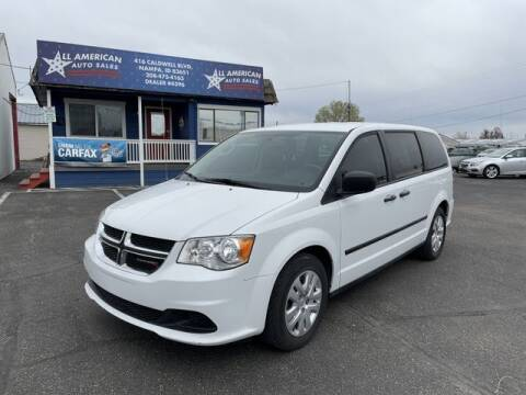 2015 Dodge Grand Caravan for sale at All American Auto Sales LLC in Nampa ID