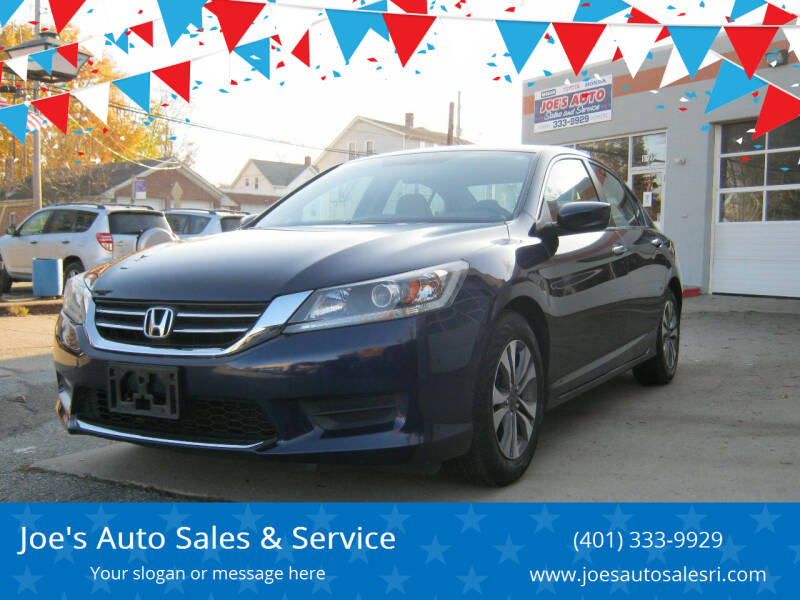 2013 Honda Accord for sale at Joe's Auto Sales & Service in Cumberland RI