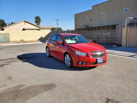 2012 Chevrolet Cruze for sale at Silver Star Auto in San Bernardino CA