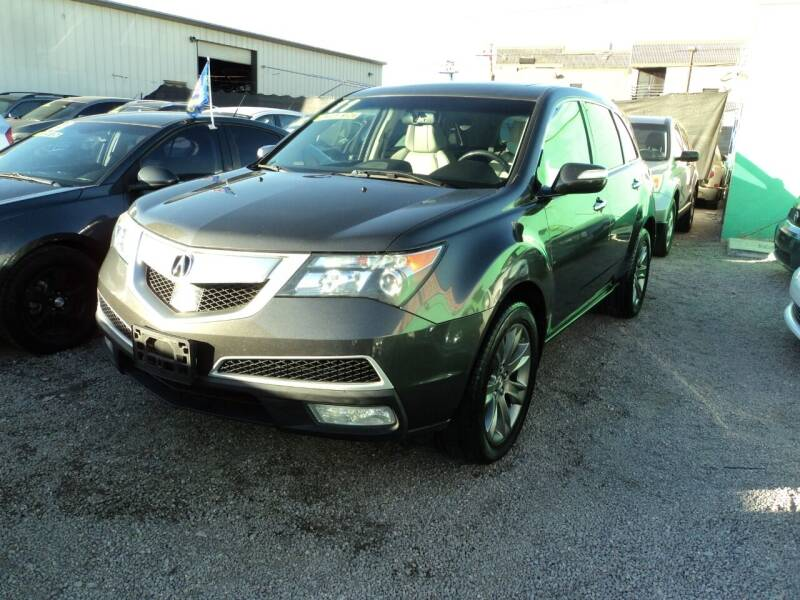 2011 Acura MDX for sale at DESERT AUTO TRADER in Las Vegas NV
