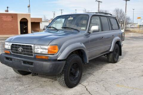 1997 Toyota Land Cruiser for sale at A Motors in Tulsa OK