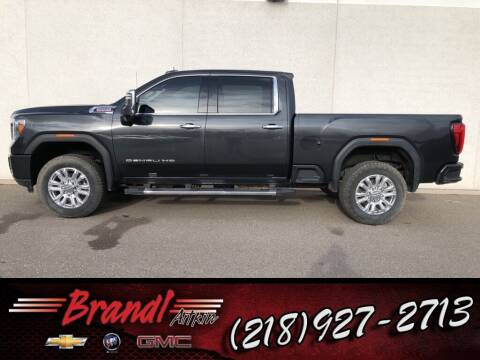2020 GMC Sierra 3500HD for sale at Brandl GM in Aitkin MN
