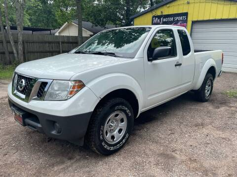 2015 Nissan Frontier for sale at M & J Motor Sports in New Caney TX