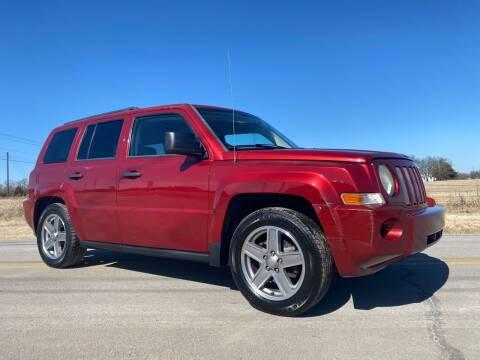 2008 Jeep Patriot for sale at ILUVCHEAPCARS.COM in Tulsa OK