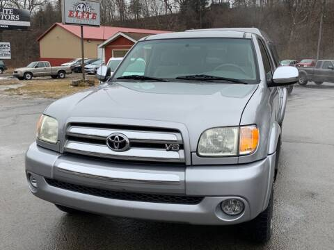 2003 Toyota Tundra for sale at Elite Motors in Uniontown PA