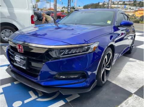 2020 Honda Accord for sale at AutoDeals in Daly City CA
