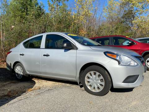 2015 Nissan Versa for sale at Downeast Auto Inc in Waterboro ME