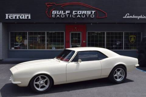 1967 Chevrolet Camaro for sale at Gulf Coast Exotic Auto in Biloxi MS