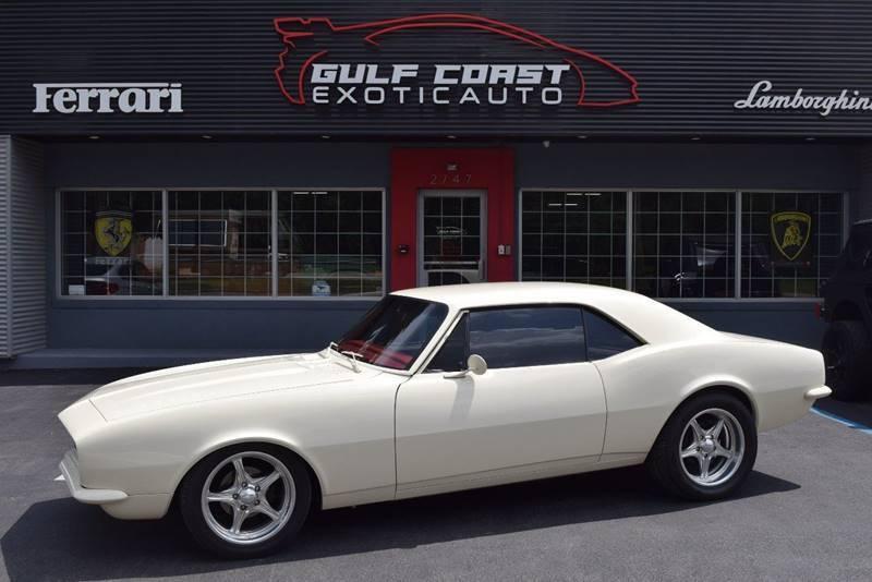 1967 Chevrolet Camaro for sale at Gulf Coast Exotic Auto in Biloxi MS