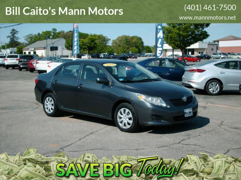 2010 Toyota Corolla for sale at Bill Caito's Mann Motors in Warwick RI