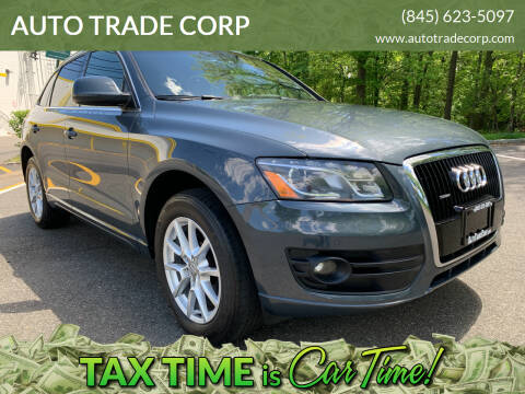 2010 Audi Q5 for sale at AUTO TRADE CORP in Nanuet NY