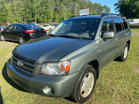 2006 Toyota Highlander for sale at Carlyle Kelly in Jacksonville FL