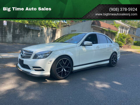 2011 Mercedes-Benz C-Class for sale at Big Time Auto Sales in Vauxhall NJ
