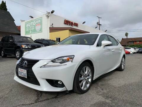 2016 Lexus IS 200t for sale at Auto Ave in Los Angeles CA