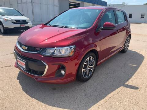 2017 Chevrolet Sonic for sale at Spady Used Cars in Holdrege NE