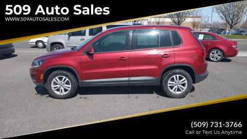 2013 Volkswagen Tiguan for sale at 509 Auto Sales in Kennewick WA